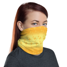 Load image into Gallery viewer, Yellow Ghost Sparkle Face Cover