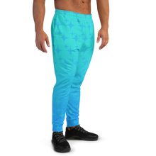 Load image into Gallery viewer, Blue Ghost Sparkle Men's Joggers