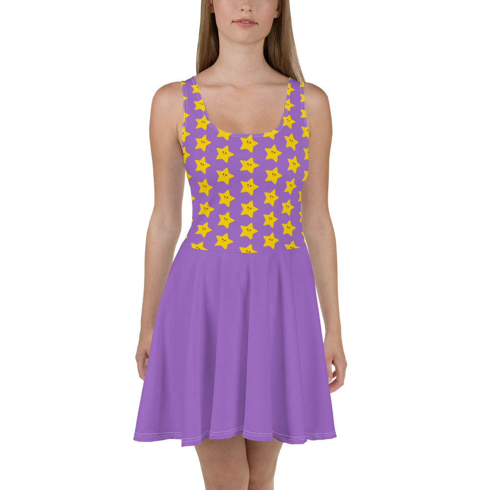 Kawaii Stars Women's Skater Dress