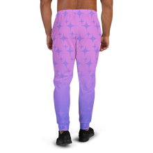 Load image into Gallery viewer, Purple Ghost Sparkle Men's Joggers