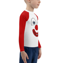 Load image into Gallery viewer, Clownify Unisex Kid's Long Sleeve Athletic Shirt - Rhonda World