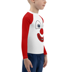 Clownify Unisex Kid's Long Sleeve Athletic Shirt