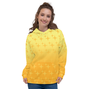 Yellow Ghost Sparkle Hoodie
