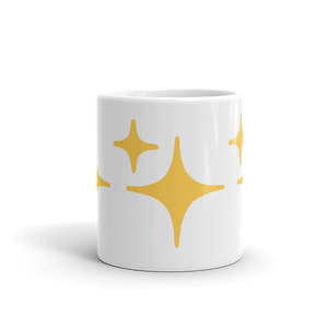 Yellow Sparkle Mug