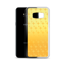 Load image into Gallery viewer, Yellow Ghost Sparkle Phone Case (Samsung Galaxy S7/S7 Edge/S8/S8+/S9/S9+/S10/S10+/S10e/S20/S20 Plus/S20 Ultra)