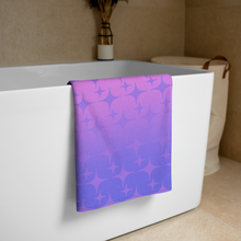 Load image into Gallery viewer, Purple Ghost Sparkle Towel