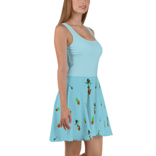 Load image into Gallery viewer, House Plants Print Women's Skater Dress
