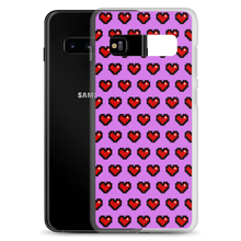 Load image into Gallery viewer, Purple Squad Hearts Phone Case (Samsung Galaxy S10/S10+/S10e/S20/S20 Plus/S20 Ultra)