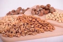 Foods that reduce cholesterol nuts