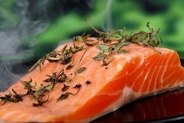 Foods you can include in diet to deal with stress salmon