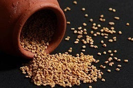 Tips for a less painful period spoonful of fenugreek seeds