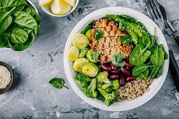 Tips for weight loss eat fresh and balanced meal