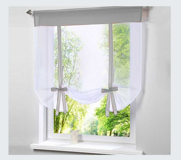 Kitchen / Bay Window Curtain (Rod Fitting)