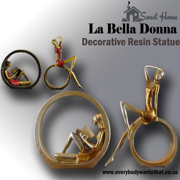 La Bella Donna Decorative Resin Statue