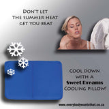 Sweet Dreams Cooling Pillow