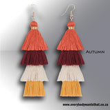 Rebel Beauty Nature Edition Tassle Earrings