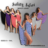 Sailing Safari Beach Wrap
