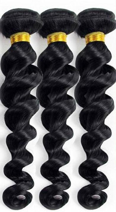 Body Wave Hair Natural Black 18 Inch Brazilian Virgin Hair