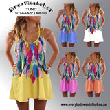 Dreamcatcher Tunic Strappy Dress Sizes S- 5XL