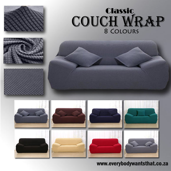 Classic Couch Wrap (8 Colours)