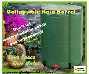 Collapsible Rain Barrel (100L)