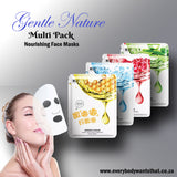 Gentle Nature Multi Pack Nourishing Face Masks