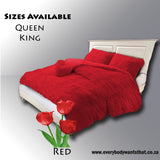 Ultra Warm Fleece Bedding Set A (Queen)8 Colours