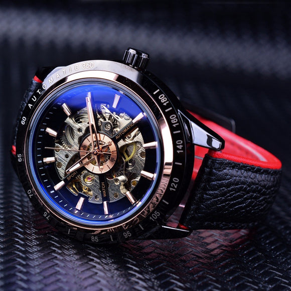 Skeleton Design Tourbillon Watch