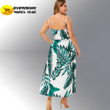 Tropical Rain Casual Dress