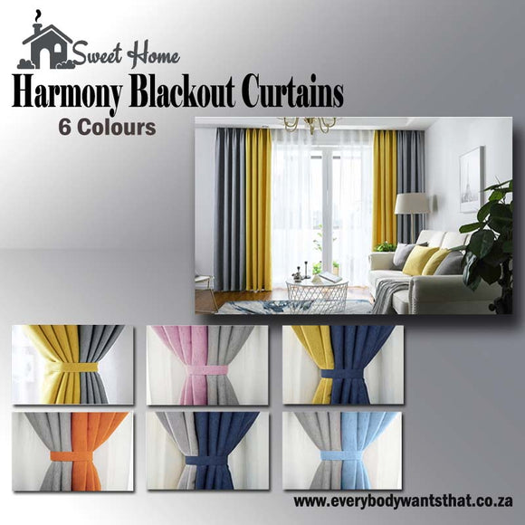 Harmony Blackout Curtains