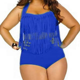 Curvy Diva High Waist Bikini (Colours 1-4) Clear / 4Xl