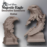 Majestic Eagle Decorative Sandstone Statue