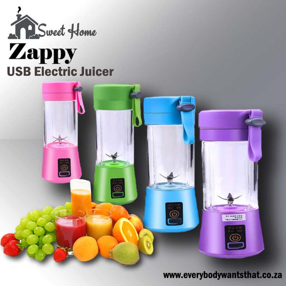 Zappy USB Electric Juicer