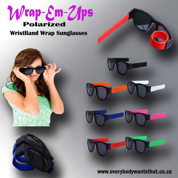 Wrap-Em-Ups Polarized Sunglasses
