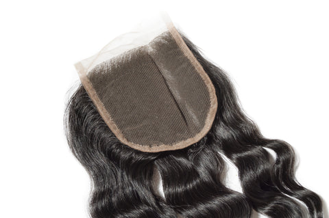 Raw Ice Wavy Lace Closure