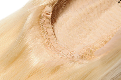 Russian Ice Blonde Lace Front Wigs