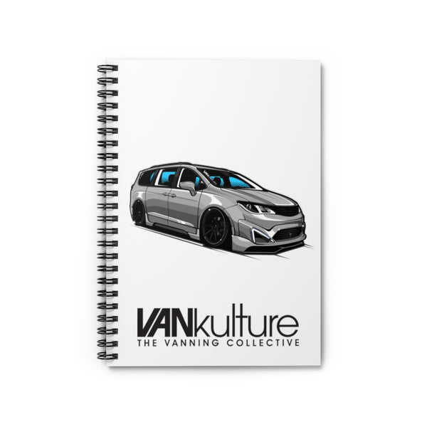VANkulture Pacifica Spiral Notebook - Ruled Line