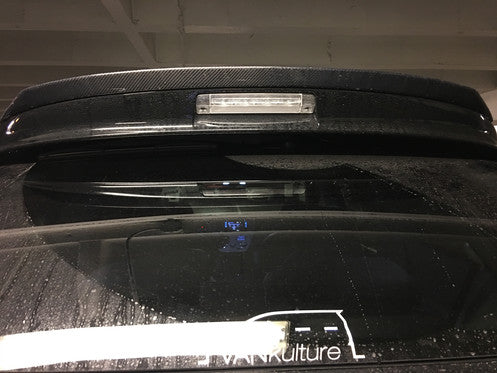 2011-17 Sienna CF Trunk Spoiler Extension