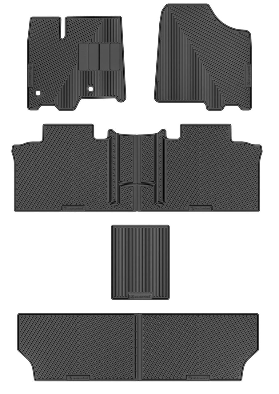 Road Comforts Custom fit Floor Mats for 2013-2019 Toyota Sienna