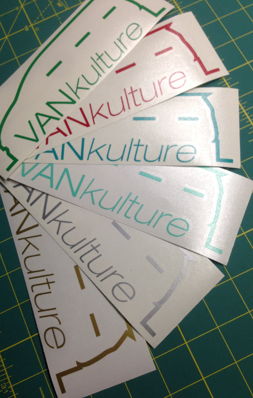 VANkulture Silhouette decal