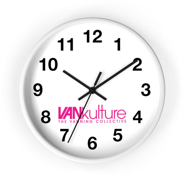 "VK Collective ""Hot Pink"" Limited Edition Wall clock"