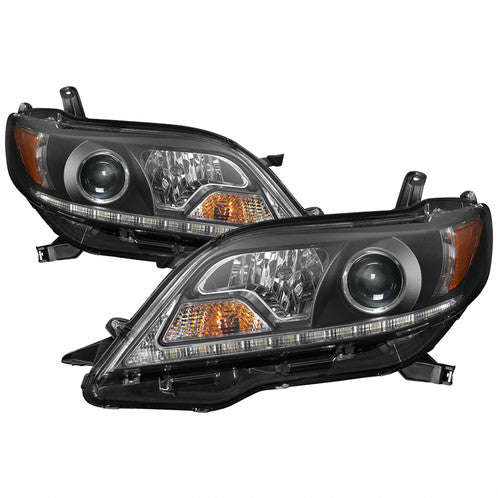 2011+ Sienna Spyder DRL LED Headlights