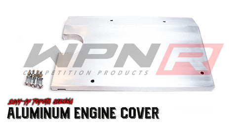 2011-17 Sienna WPN-R Aluminum Engine Cover