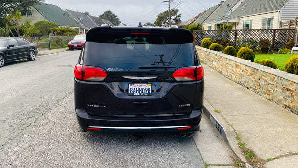 2017+ Pacifica VK X Clinched Roof Spoiler