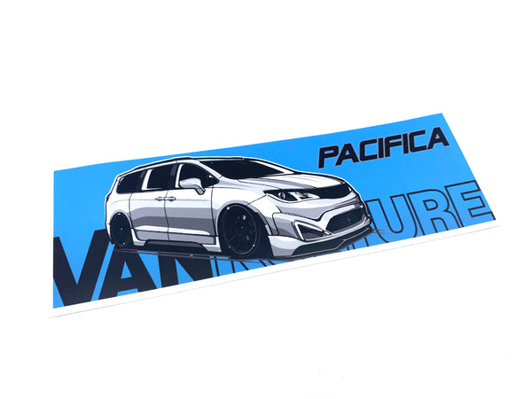 VK Pacifica Bumper Sticker