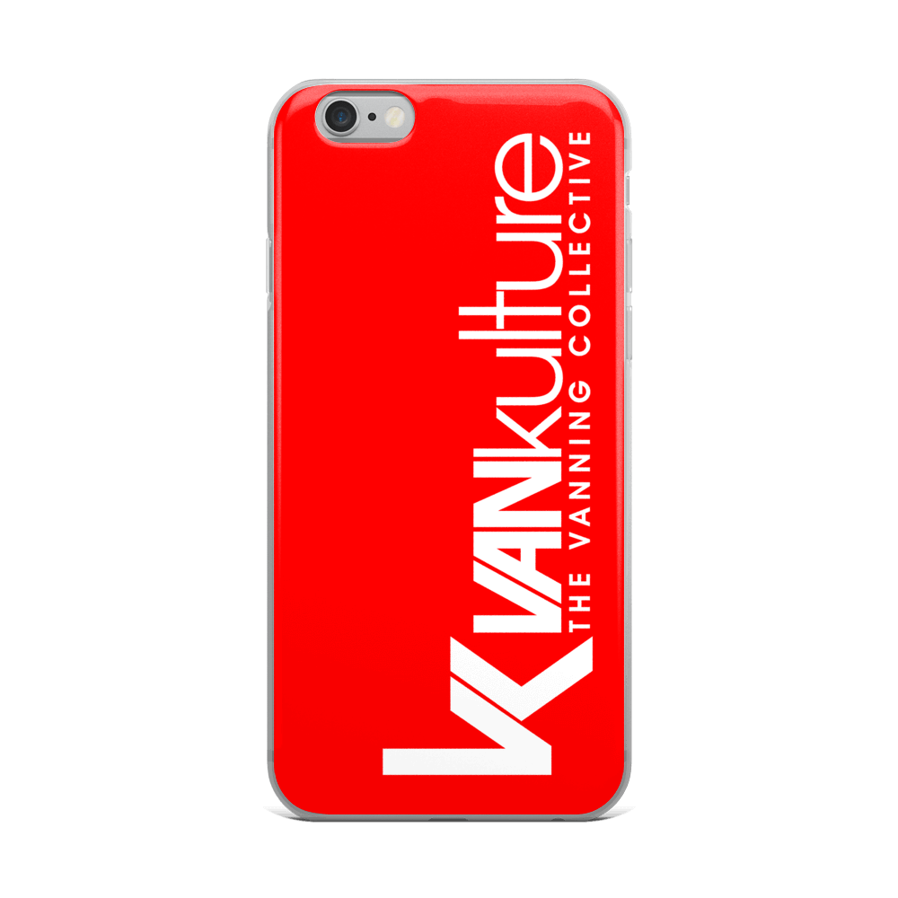 VK Collective RED iPhone Case