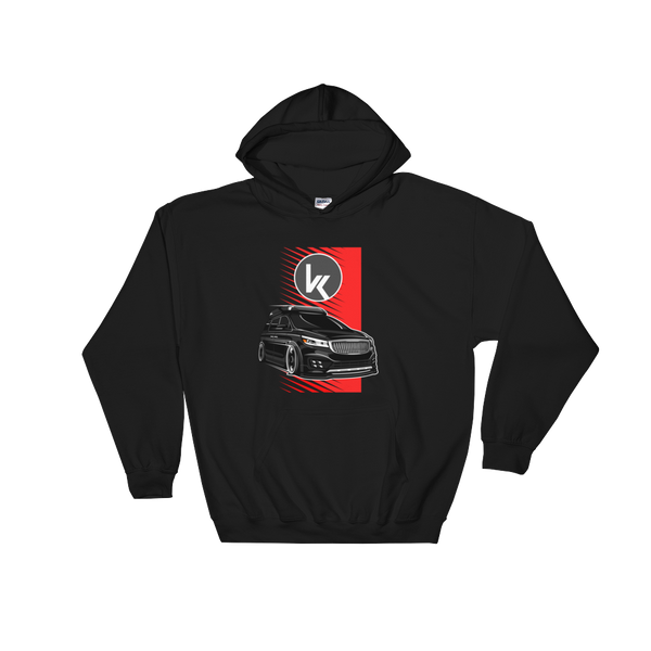 Black Sedona Hooded Sweatshirt