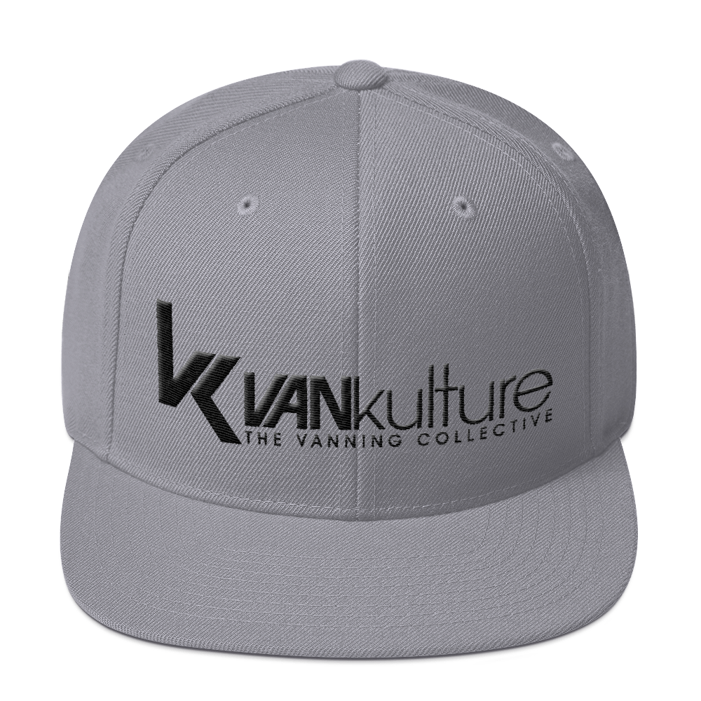 VK Collective Grey Snapback Hat