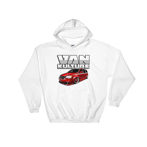 Red Rocket Hooded Sweatshirt