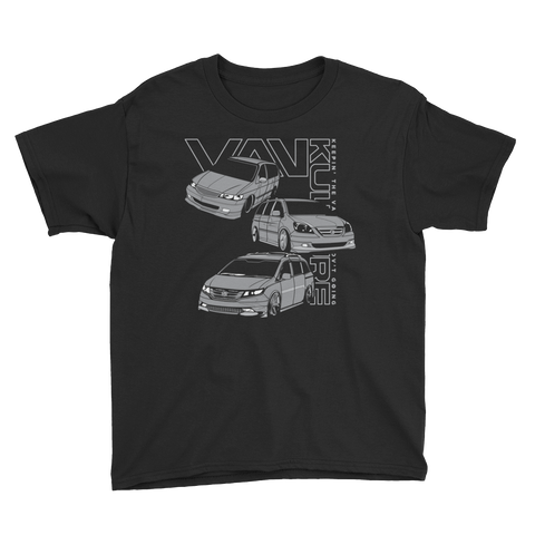 Vintage 3 Vans Youth Short Sleeve T-Shirt